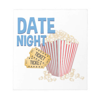 Datums-Nacht Notizblock