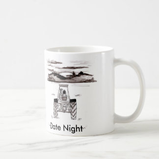 Datums-NachtTasse Kaffeetasse