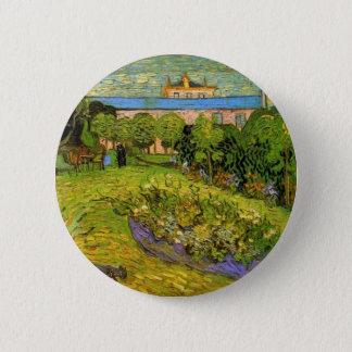 Daubignys Garten durch Vincent van Gogh Runder Button 5,7 Cm