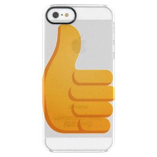 Daumen Up Emoji Durchsichtige iPhone SE/5/5s Hülle