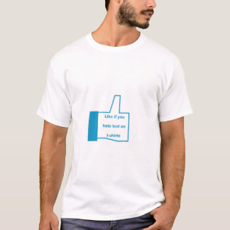Daumen up T-Shirt wie