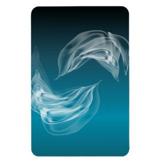 Dauphins abstraits au jeu magnet souple