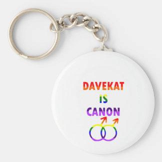 Davekat ist Canon (v2) Schlüsselanhänger