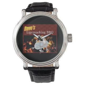 Daves Lipsmacking GRILLEN-Armbanduhr Armbanduhr