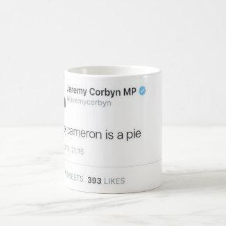 Davey Cameron ist eine Torte Kaffeetasse