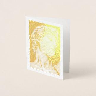 David, nach Michelangelo… Folienkarte