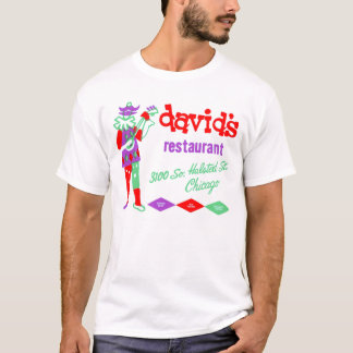 Davids Restaurant, Bridgeport, Chicago, IL T-Shirt