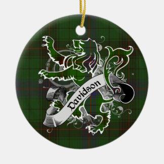 Davidsontartan-Löwe Keramik Ornament