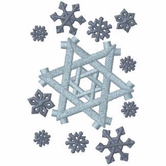 Davidsstern Schneeflocke