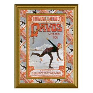 Davos 1906 carte postale