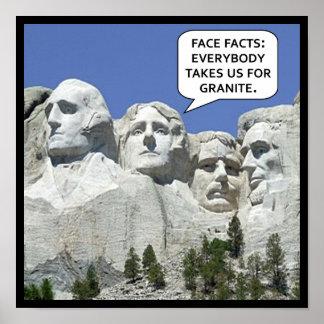 Day Humor Präsidenten Poster