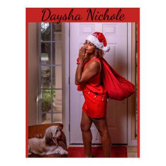 Daysha Nichole, Fräulein Sankt, Postkarte