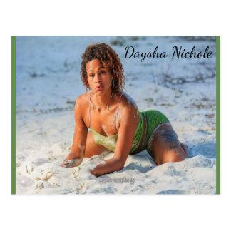 Daysha Nichole McGinnis, Strand, Postkarte