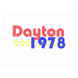 Dayton 1978 postkarte