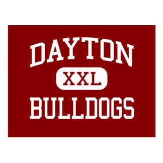 Dayton - Bulldoggen - hoch - Dayton Washington Postkarte