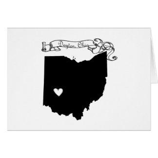 Dayton Ohio Karte