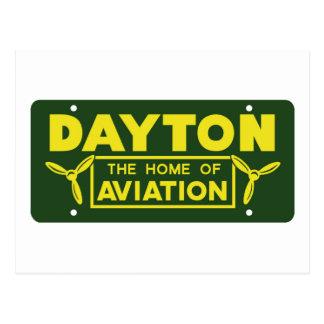Dayton Ohio Postkarte