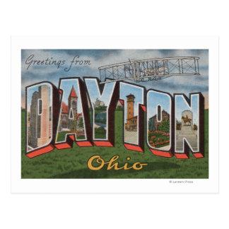 Dayton, Ohio (Wright-Bruder-Flugzeug) Postkarte