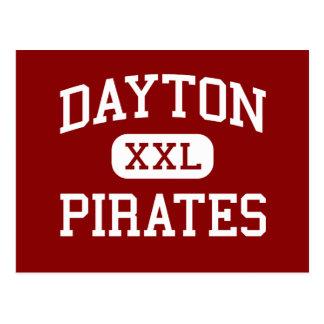 Dayton - Piraten - Sekundarschule - Dayton Oregon Postkarte