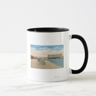 Daytona Beach, FL - Strand-Ansicht des Tasse