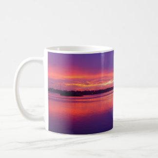 Daytona- Beachfluss-tropische Kaffeetasse