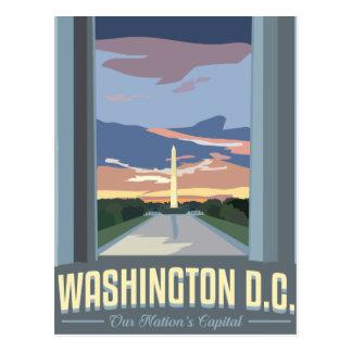DCTravelposter Postkarte