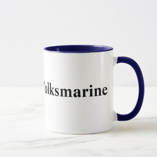 DDR Volksmarine, Ostdeutsche Marine Tasse
