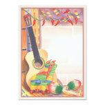 © de fiesta carton d'invitation  12,7 cm x 17,78 cm
