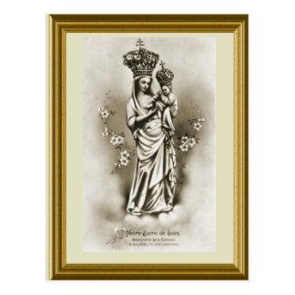 De Lothringen Notre Dames de Sion Protectrice Postkarte