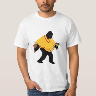 De Mayo Senor Squatcho mit Poncho T-Shirt