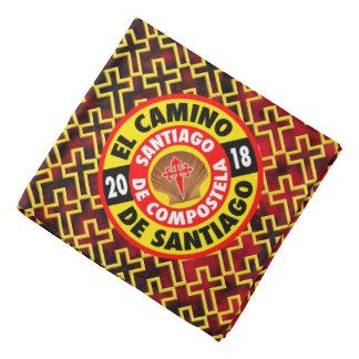 De Santiago 2018 EL-Camino Kopftuch