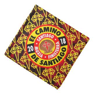 De Santiago 2018 EL Camino Kopftuch