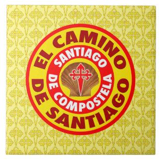 De Santiago EL Camino Fliese
