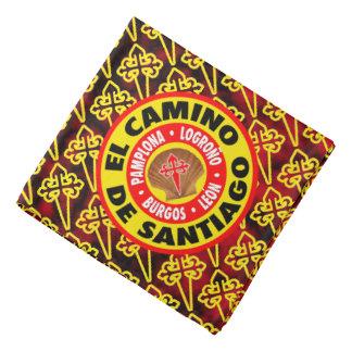 De Santiago EL-Camino Kopftuch