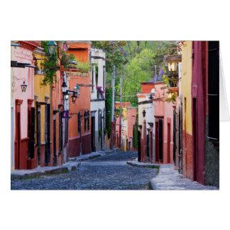 De Sollano Street, San Miguel De Allende Carte De Vœux