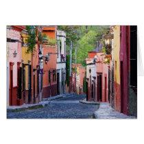 De Sollano Street, San Miguel De Allende Grußkarte