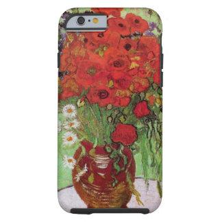 De Van Gogh toujours pavots et marguerites rouges Coque Tough iPhone 6