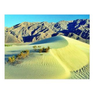 Death- ValleySanddünen Postkarte