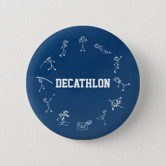 Decathlon Stickman Runder Button 5,1 Cm