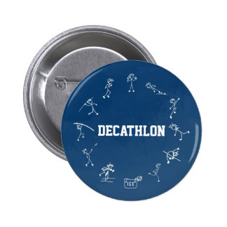 Decathlon Stickman Runder Button 5,1 Cm