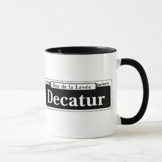 Decatur St., New- OrleansStraßenschild Tasse