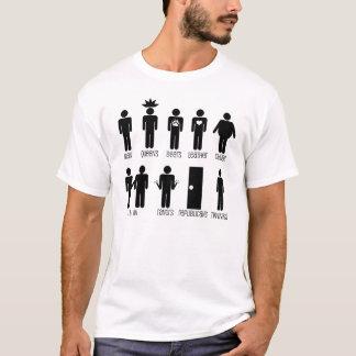Dechiffrierung für Badezimmer unterzeichnet T - T-Shirt