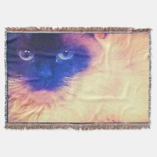 Decke Wurf der persischen Katze
