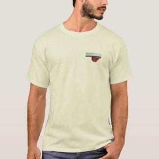 DECKEL Sun-Brust + Große Sun-Rückseite, natürlich T-Shirt