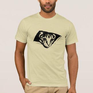 Decken-Katzen-Ikone T-Shirt