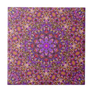 Decken Sie Art-Muster-Keramik-Fliesen, 2 Größen Kleine Quadratische Fliese