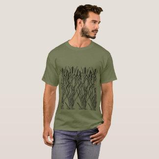 """""""Deckt"""" Fischen-T - Shirt mit Schilf"""
