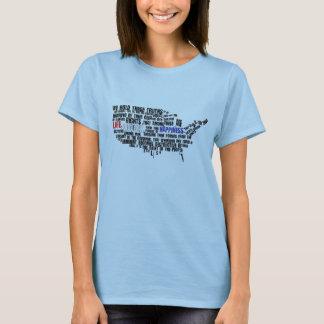 Decleration der Unabhängigkeit - besonders T-Shirt