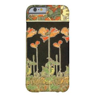 Décoratifs d'art (fleurs oranges) par Alphonse Coque iPhone 6 Barely There