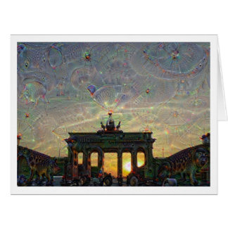 DeepDream Berlin, Brandenburger Tor Karte